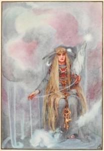 Fonte: Freya, Rainha dos Deuses Nórdicos,