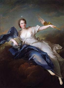 A deusa grega do amanhecer, Eos, é etimologicamente relacionada com Eostre. Por Jean-Marc Nattier.