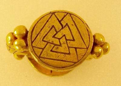 O anel do Rio Nene. Museu Britânico